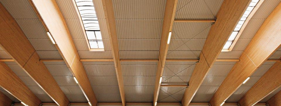 COMPLETE ROOFING SYSTEMS THE COMPLETE RUBNER HOLZBAU PACKAGE The aim of Rubner Holzbau has always