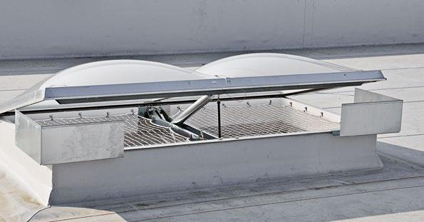 outlets and parapet coverings are taken into consideration, included in the quotation phase and