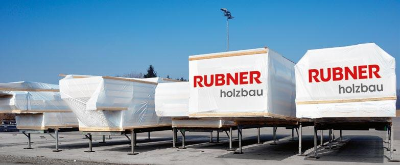 The Rubner personnel at site not only coordinates the deliveries just-in-time but also organises the cranes and