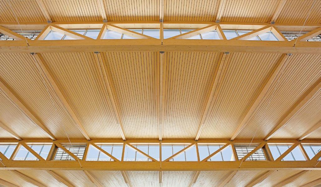 RUBNER, LEADER IN EUROPE FOR THE CONSTRUCTION OF LARGE TIMBER BUILDINGS Rubner Holzbau is the ideal partner to trust when building complex timber structures and projects of high