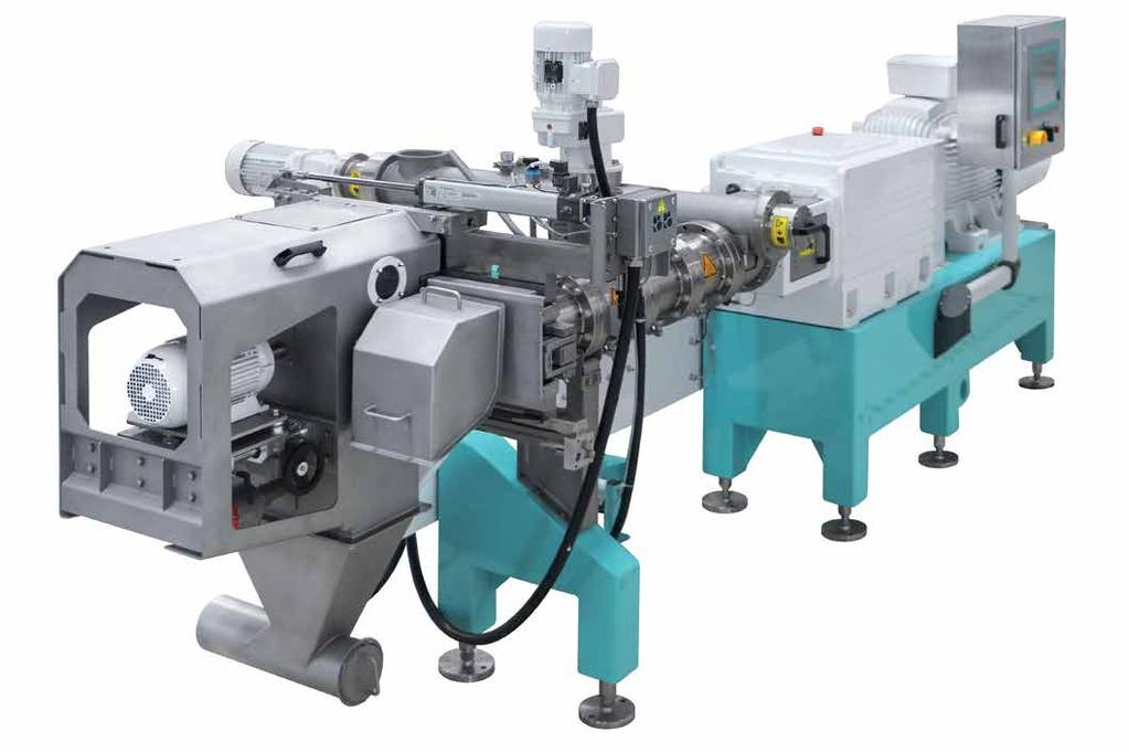 CompacTwin TM the flexible twin-screw extruder.