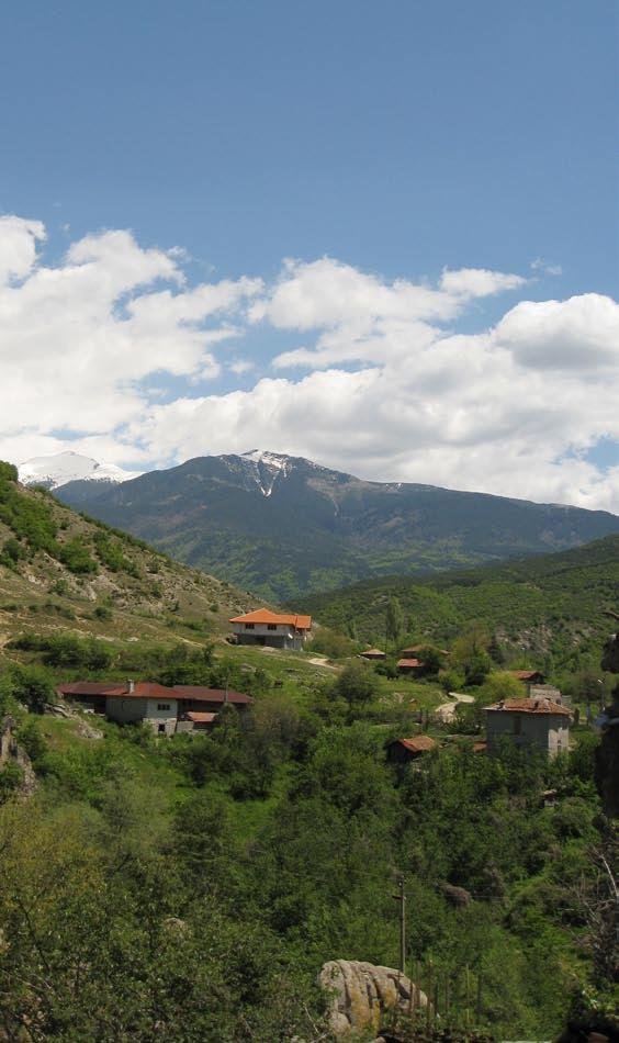 The Vlahi project is an excellent example of the rehabilitation of depopulated villages and an impressive entry point to the Pirin National Park.