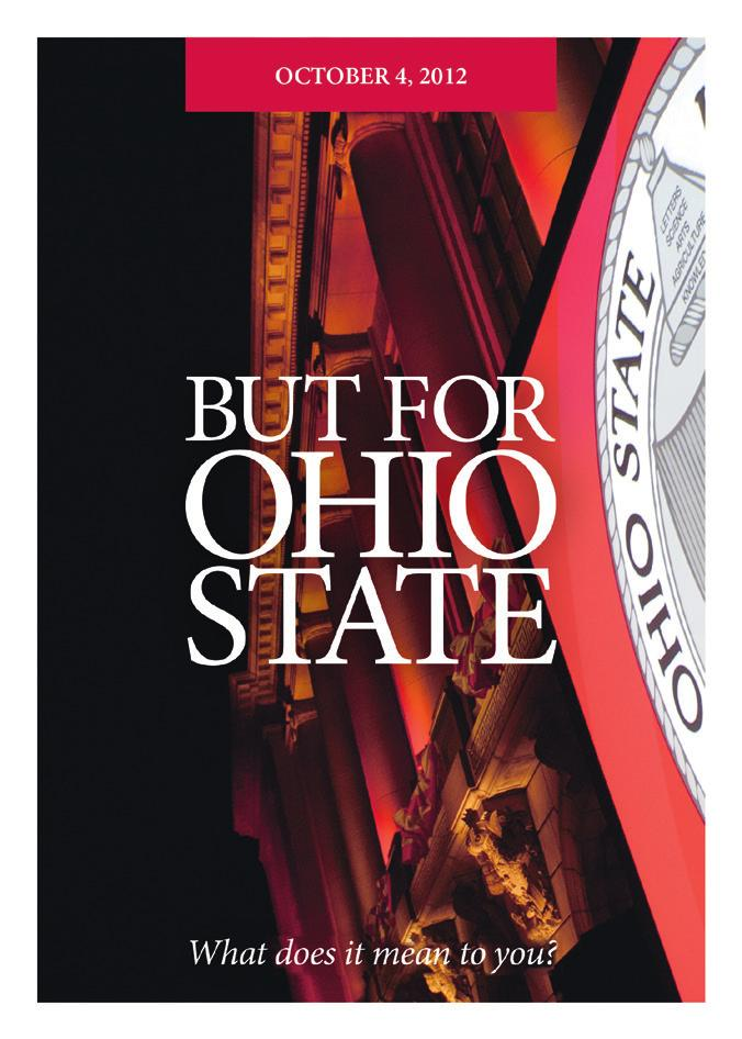 Applications BUT FOR OHIO STATE The Neil Legacy Society October 22, 2012 The Ohio State University Foundation 1480 West Lane Firstname Lastname Avenue, Columbus, OH 43221 (614) 247-5449 President
