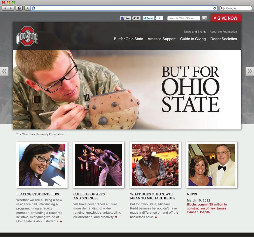 Applications BUT FOR OHIO STATE October 22, 2012 The Neil Legacy Society Firstname Lastname President Smith, Jones & Walker 123 Streetname Lane City, State 01234 The Ohio State University Foundation