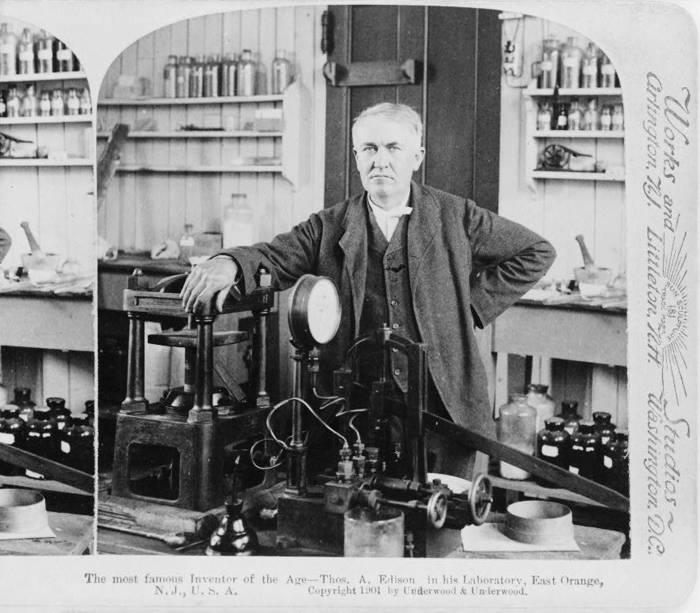 Bell, Edison Patents