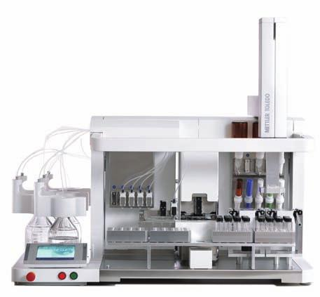 Product Offering Configuration Product Feature Your benefit QA series XP analytical balance combined with Quantos QLB for automated gravimetric addition of solvent to the right concentration.
