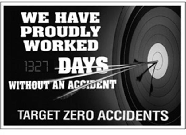 # Zero Accident is the best OSH goal forever!