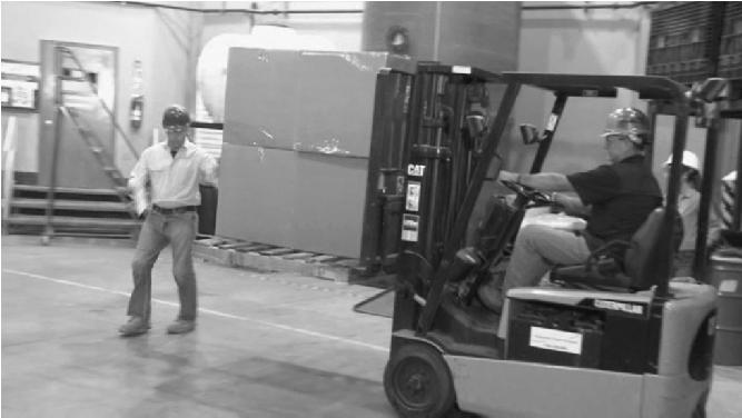Case Study: What Is The Hazard? Hazard : Driving forklift with blocking vision.
