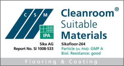 Construction Product Data Sheet Edition 27/10/2015 Identification no: 02 08 01 02 013 0 000002 Sikafloor -264 2-part epoxy roller and seal coat Product Description Sikafloor -264 is a two part,