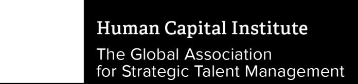 HCI is the global association for strategic talent