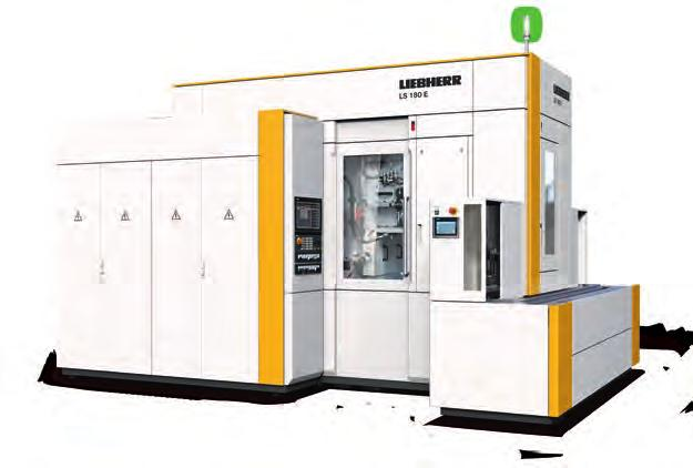 LS 180 E Gear Shaping Machine The fully electronic shaping head The new LS 180 E gear shaping machine with an electronic shaping head stands out on account of its enormous flexibility.