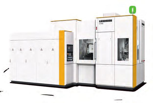 LK 300/500 Gear Skiving Machine Skiving³: Machine Tool Process In the LK 300 and 500 gear skiving machines, process, tools and machine including tool changer and automation system come from a single