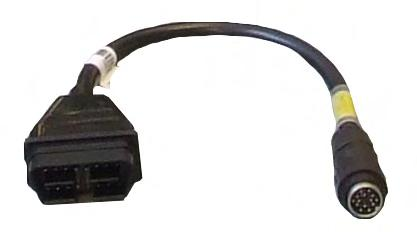 Part number: SL010480 OBDII Slave Cable Applications: Triumph Part number: