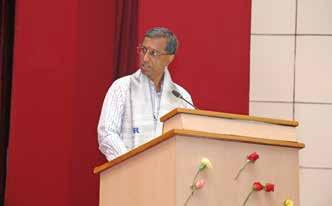 Biennial Report 2012-14 very wide range of subjects, it was prudent to usher in an academic institution like AcSIR. Prof. Nagesh R. Iyer, Director, AcSIR Prof. Iyer and Prof.