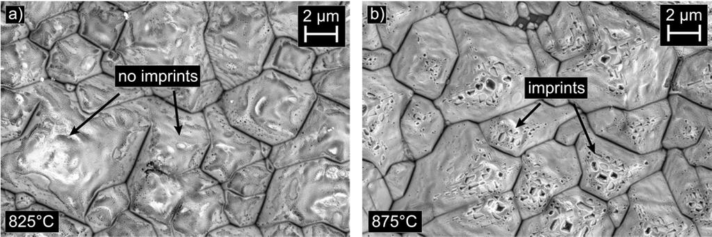 930 Susanne Fritz et al. / Energy Procedia 92 ( 2016 ) 925 931 Fig. 7. SEM micrographs of contacts of the Te-containing old generation paste on emitter E1 etched back completely.