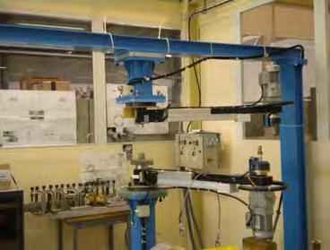 Technology for new magnets: precision machines, with movements,