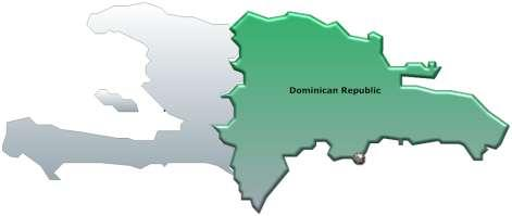 Dominican Republic + Existing LNG terminal + Many private power plants + Many engines already installed that