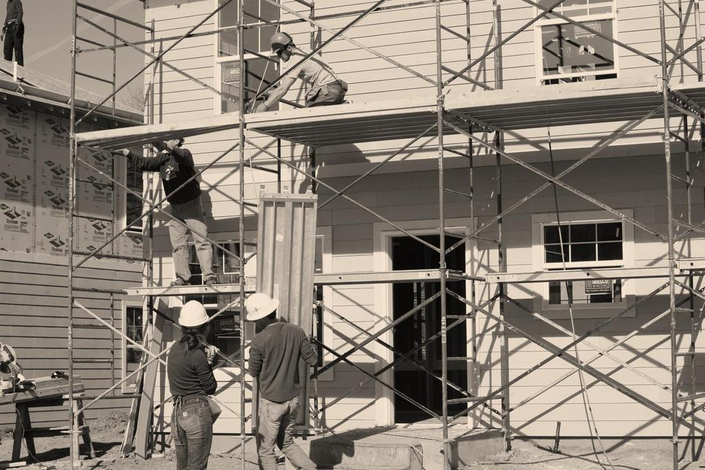 Safety on Heights: Our Policy Only volunteers over the age of 18 are allowed to work on heights of more than six feet off the ground. This includes all work on scaffolds.
