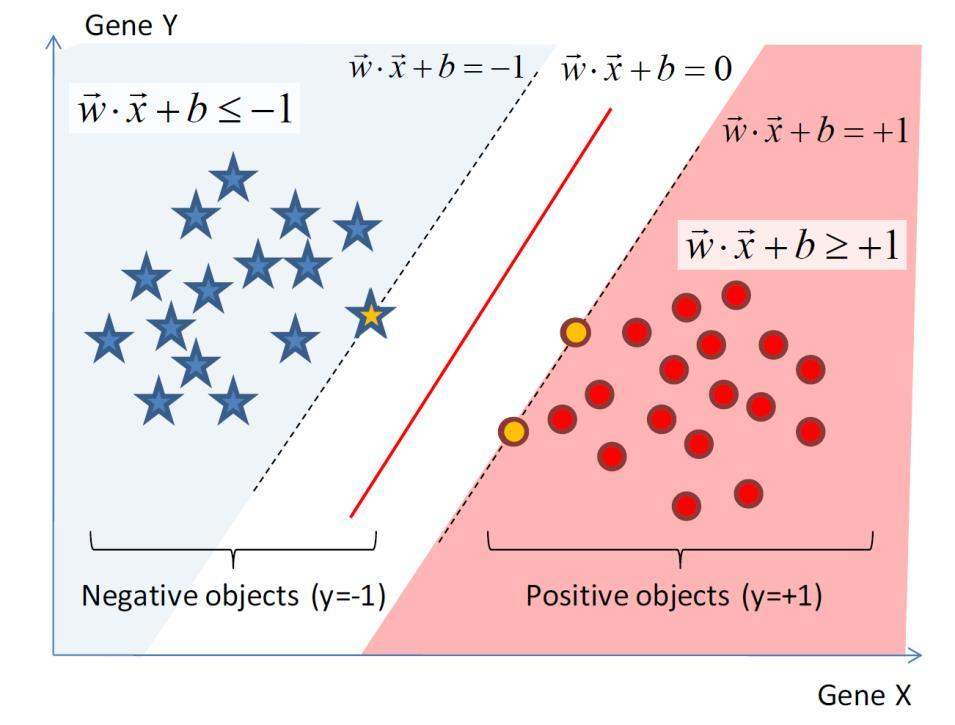 Example of Predictive Modeling : Support Vector Machines (SVMs) Key Characteristics of SVM Maximum gap to prevent overfitting QP problems can be solved with