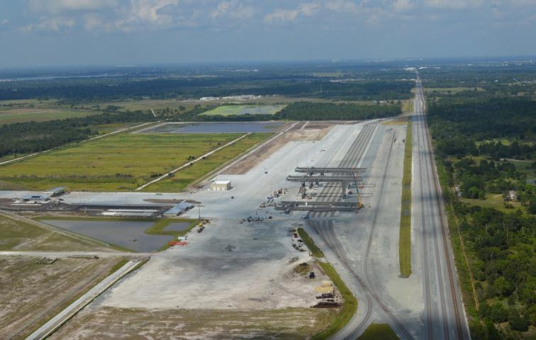 Winter Haven Intermodal Terminal 300 Acres for intermodal and automotive under
