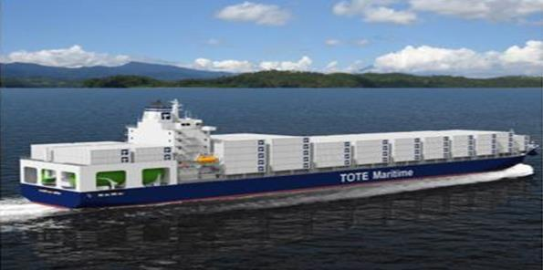 commissions two (2) LNG-fueled designs WesPac to