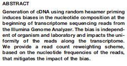 Genome Biology, 2011,12:R22 Transcript length bias Some reads map to multiple locations (?