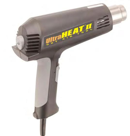 [ heat guns ] Heat Guns Part # Price 34103 $58.00 UltraHeat II SV 803 STEINEL's Ultra Heat II is a variable temperature heat gun featuring three airflow settings for maximum user control.