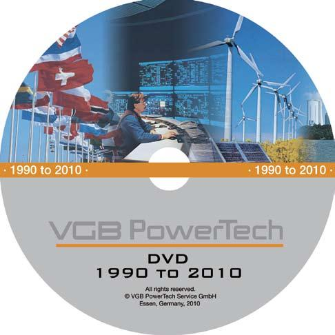 VGB Po wer Tech-DVD Mo re than 2,000 digitalised pa ges with data and expertise (incl.