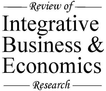 Review of Integrative Business and Economics Research, Vol. 5, no. 1, pp.