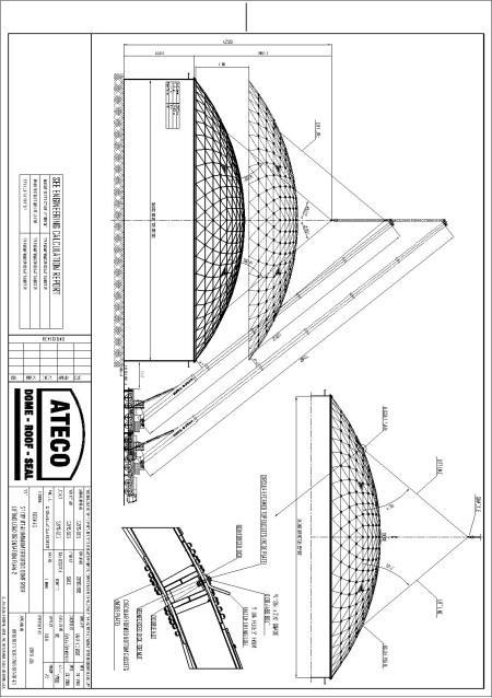 1 SEGMENT STRUCTURE ASSEMBLY DRAWING.