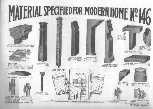 Figure 2.13 Sears, Roebuck & Co. Sears Catalogue Homes. 1908-1940 2.5 COMPONENTS.