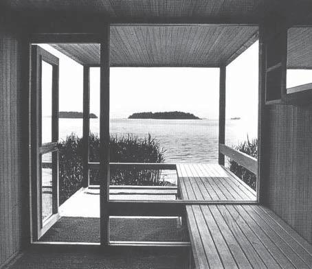 Figure 3.1.4 Aarno Ruusuvuori. Marimekko sauna.1969 BACKGROUND. The main references might be sought in the international context at the beginning of the 20th century.