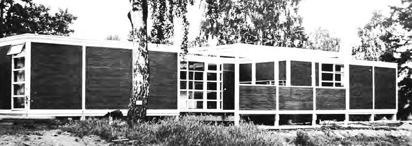 The housing solutions developed in Finland between industry and architects were more open, fl exible and perhaps aesthetically more attractive