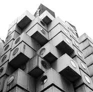 towers ORIENTAL MASONIC GARDENS Paul Rudolph 1971 New Haven, USA Factory made mobile room units