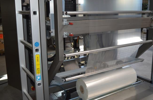 belt filler * Foil roll is easy to switch * Low maintenance Flatfoil Specifications Capacity (max.