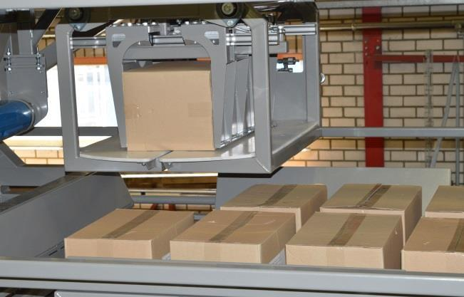 Features * Integrating the machine in an existing packaging line is easy also because of the small footprint * Several patterns are easy adjustable through the display * High accessibility around