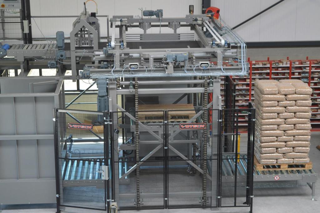 Palletiser VPC When Quality Matters Palletiser VPC The palletizer will lay the bags in a correct