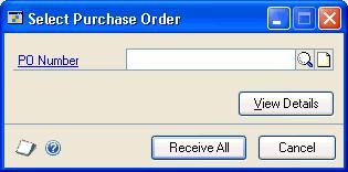 CHAPTER 15 SHIPMENT RECEIPT ENTRY FOR PROJECTS 3. Enter the receipt number, vendor document number, and date. (A vendor document number is required for a shipment/invoice.) 4.