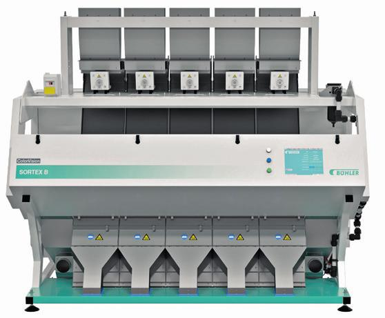 BUHLER SORTEX A Available in four sizes, the SORTEX A range provides plastic recyclers with dedicated customized options to handle the most unique and challenging sorting requirements.