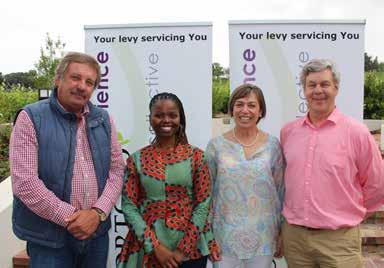 Science Gratitude About 90 people attended the annual HORTGRO Science Researcher Thank You Breakfast in Stellenbosch.