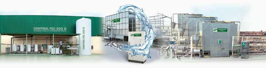reduction, reuse and purification : Specialists in