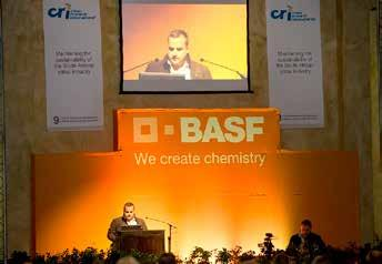 This is exactly what CRI accomplishes with its dedicated resources of research Antonio Parenti from BASF, the main sponsor of the symposium.