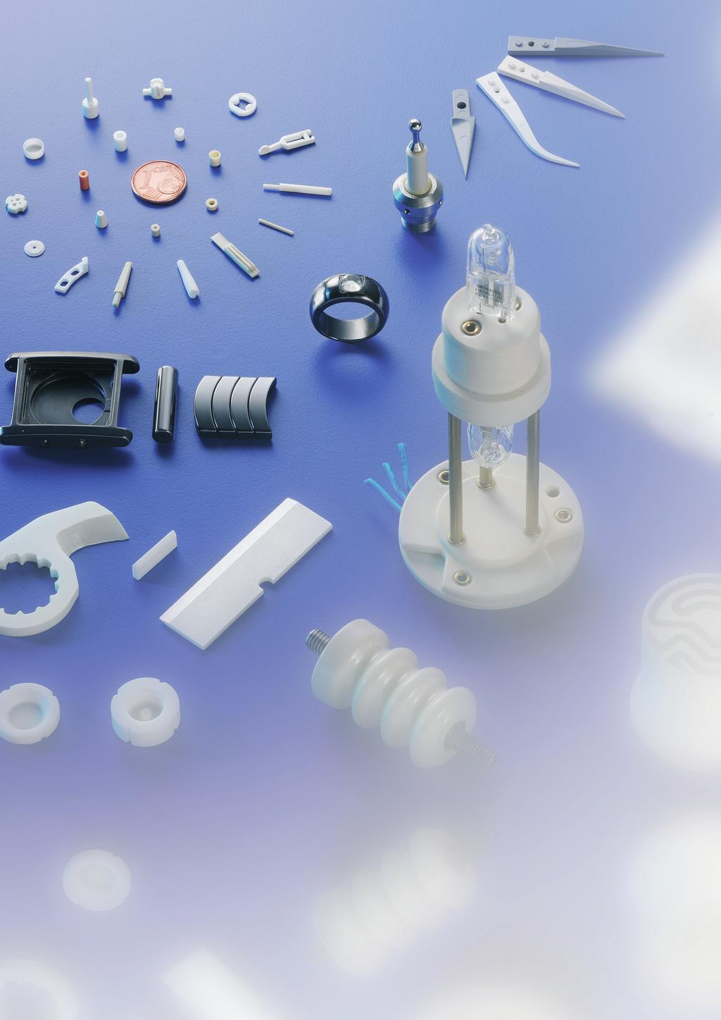 Highlights in Ceramics Pressure sensors with diaphragm thicknesses up to 0.