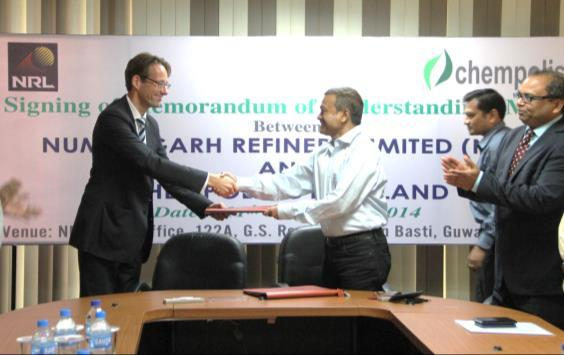 Chempolis partners with the Leaders in India Partnership agreement with