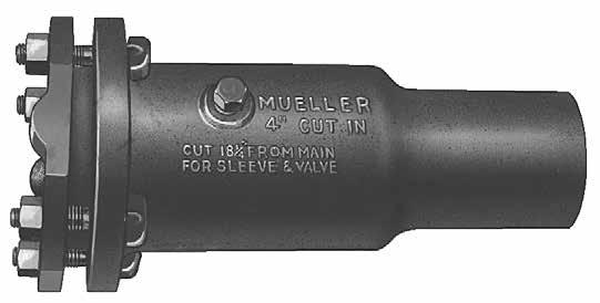 Mueller tapping materials and specialty valves