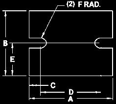 98 Thermal Interface Selection Guide Ordering SIL PAD Configurations Metric Measurements DIMENSIONS 4 LEAD TO-66 PART NUMBER SUFFIX A B C D E F G -84 33.32 19.35 3.56 1.57 24.38 5.08 2.