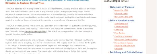global open access Reduces unnecessary duplication Assures accountability Enables monitoring of