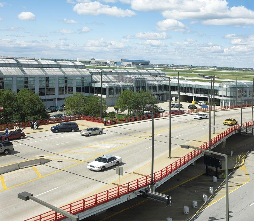 REFERENCES O HARE, CHICAGO, USA O Hare, one of the world s busiest airports, recently upgraded its escalator equipment.