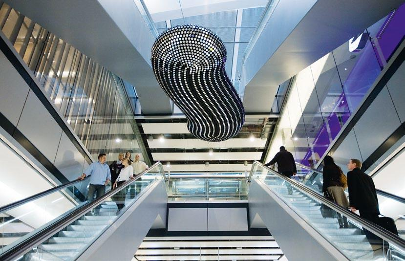 To help passengers move smoothly from the car park or train station to their departure gates at Heathrow s new Terminal 5, KONE supplied a total of 230 elevators including KONE MiniSpace, KONE