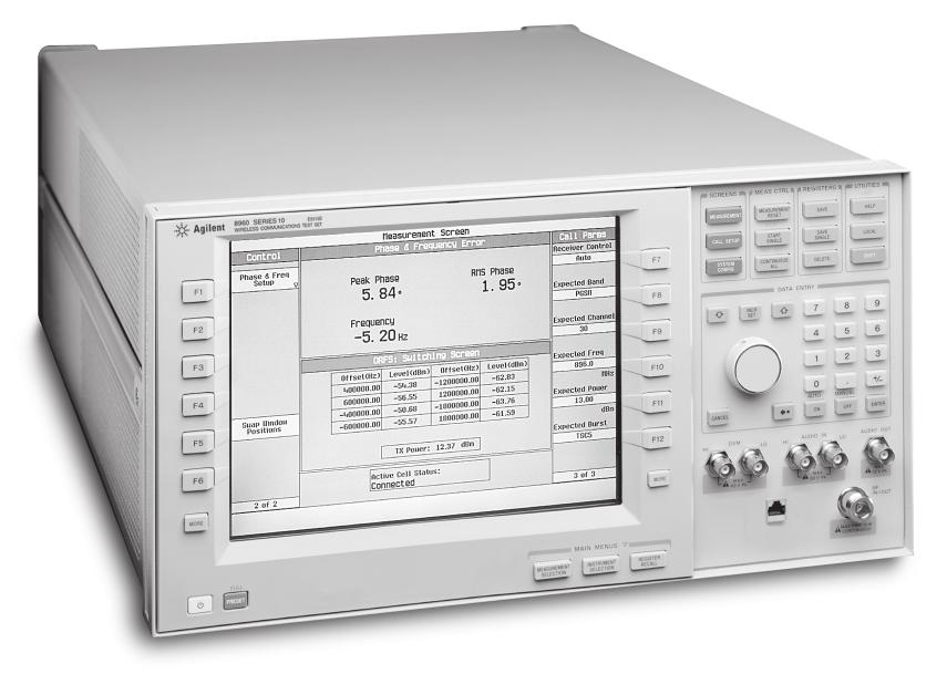 Agilent Technologies 8960 Series 10 Wireless